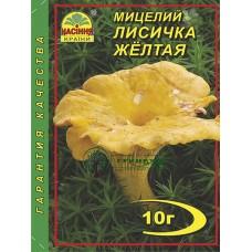 МИЦЕЛИЙ ЗЕРНОВОЙ ЛИСИЧКА ЖЕЛТАЯ, 10 Г