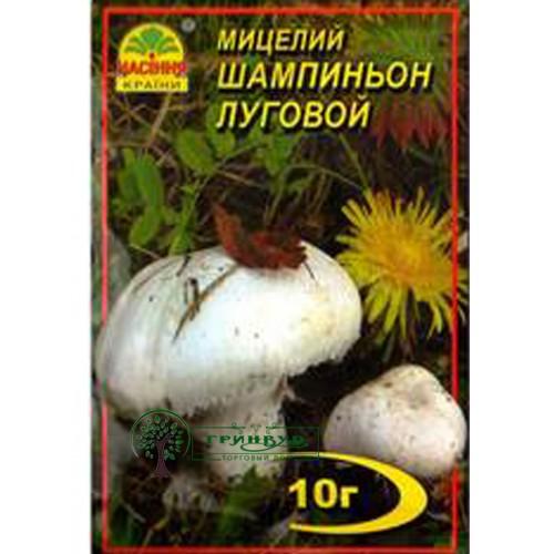 Купить МИЦЕЛИЙ ЗЕРНОВОЙ ШАМПИНЬОН ЛУГОВОЙ, 10 Г