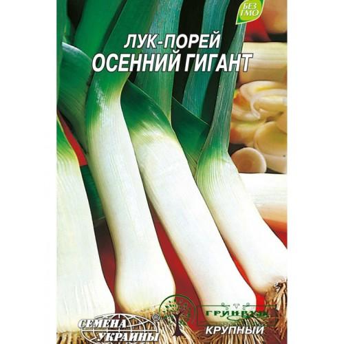 """СЕМЕНА ЛУК ПОРЕЙ """"ОСЕННИЙ ГИГАНТ""""/, 1 Г"""