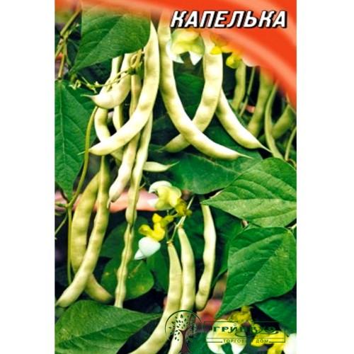 """СЕМЕНА ФАСОЛЬ ЗЕРНОВАЯ """"КАПЕЛЬКА"""", 10 Г /ГЕЛИОС/"""