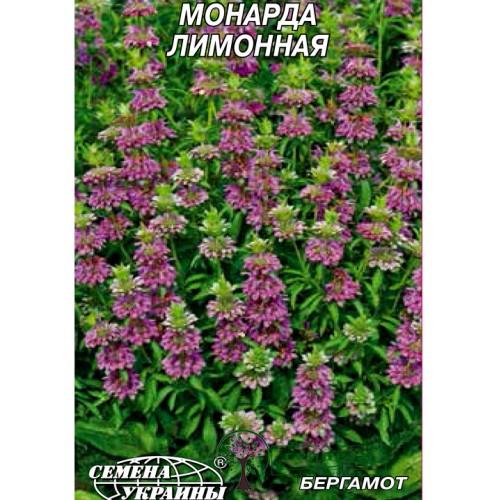 Купить СЕМЕНА МОНАРДА ЛИМОННАЯ, 0,2 Г