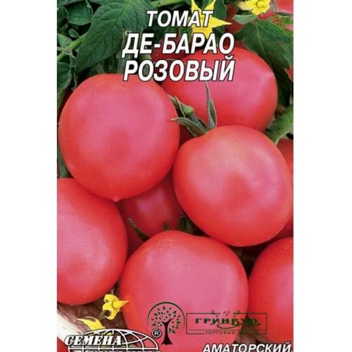 """Купить СЕМЕНА ТОМАТ """"ДЕ-БАРАО РОЗОВЫЙ""""/, 0,2 Г"""