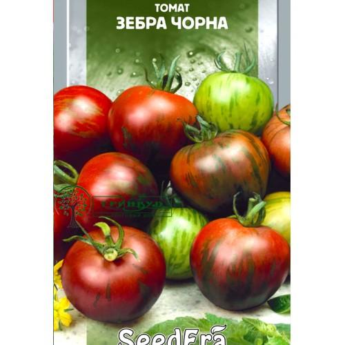 """СЕМЕНА ТОМАТ """"ЗЕБРА ЧЕРНАЯ"""", 0,1 /SEEDERA/"""