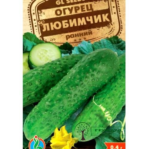 """СЕМЕНА ОГУРЕЦ РАННИЙ """"ЛЮБИМЧИК"""", 0,4 Г /GL SEEDS/"""