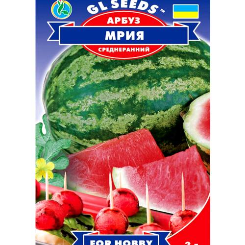 """СЕМЕНА АРБУЗ """"МРИЯ"""", 3 Г /GL SEEDS/"""