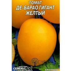 """СЕМЕНА ТОМАТ """"ДЕ-БАРАО ГИГАНТ ЖЕЛТЫЙ"""", 0,1 Г"""